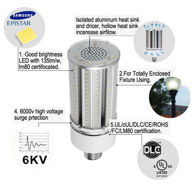 Supermais-Licht der helligkeits-LED, Glühlampe Samsungs/Mais Epistar 2835 LED des Chip-E27 LED